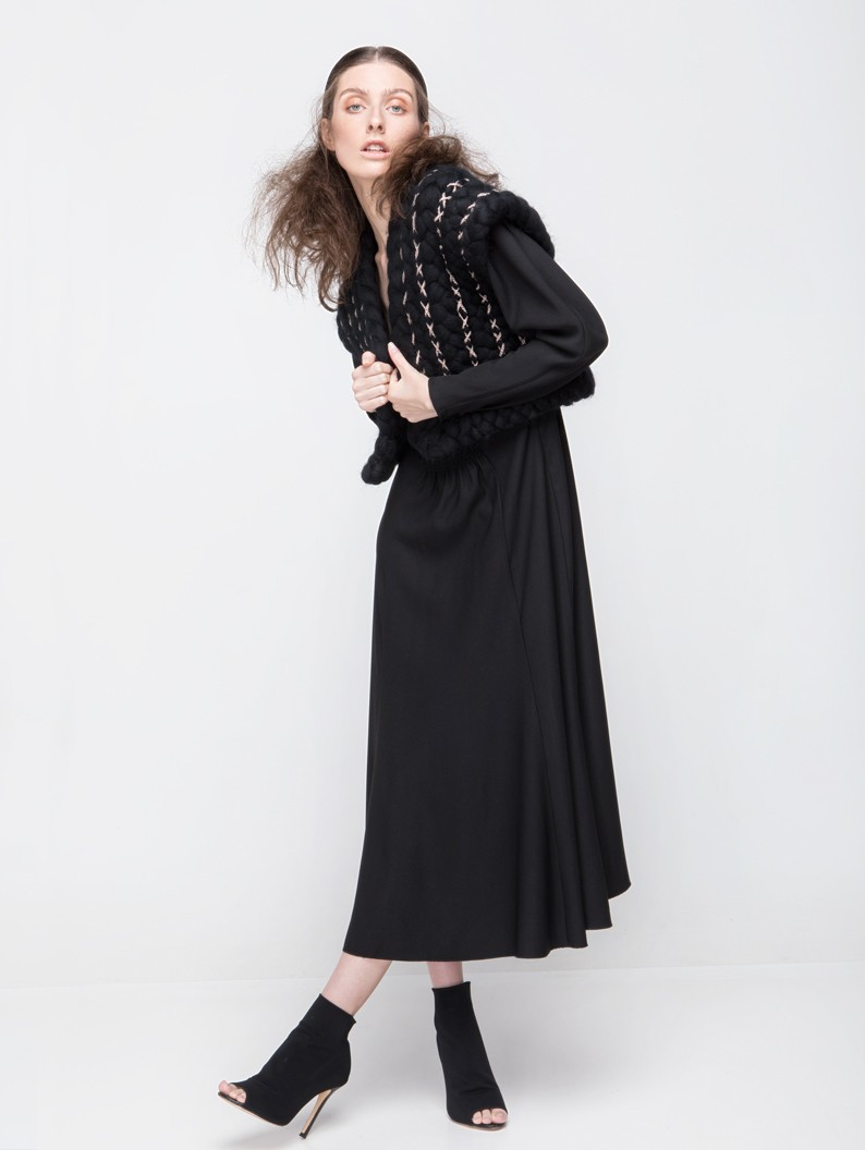 Lightweight wool waistcoat