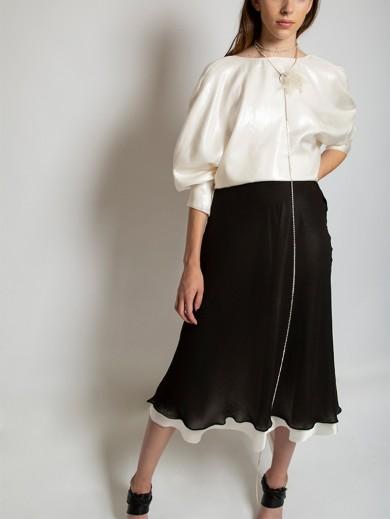 Silk Muslin Skirt