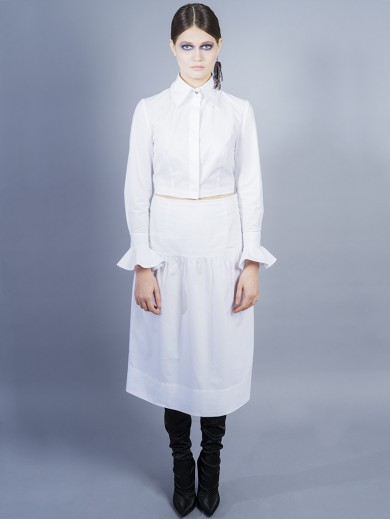 Cotton poplin ensemble